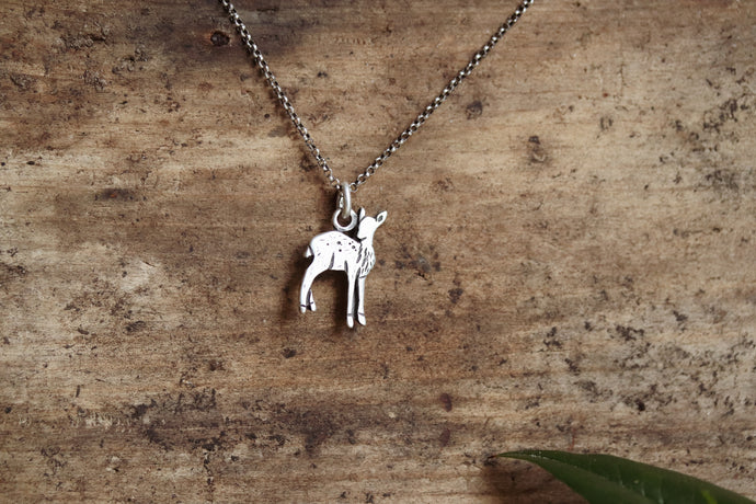 Fawn Charm Necklace