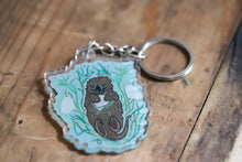 Load image into Gallery viewer, OTTER KEYCHAIN