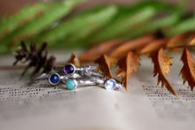 Load image into Gallery viewer, Artemis Lodestar - Birthstone Stack Ring