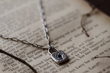 Load image into Gallery viewer, Secret Garden Lock Necklace