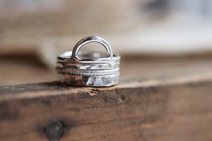 Rise Stack Ring
