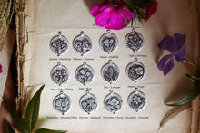Load image into Gallery viewer, Birth flower Botanical Add on Individual Charms