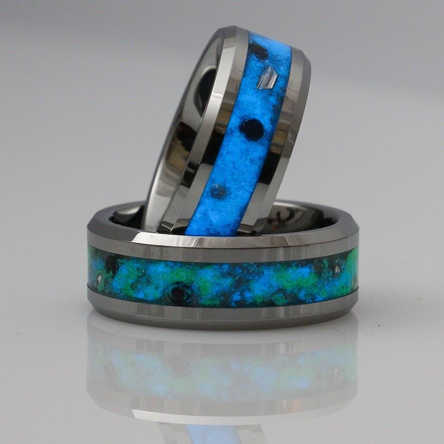 Tungsten Glowstone Ring - ultra-mimi