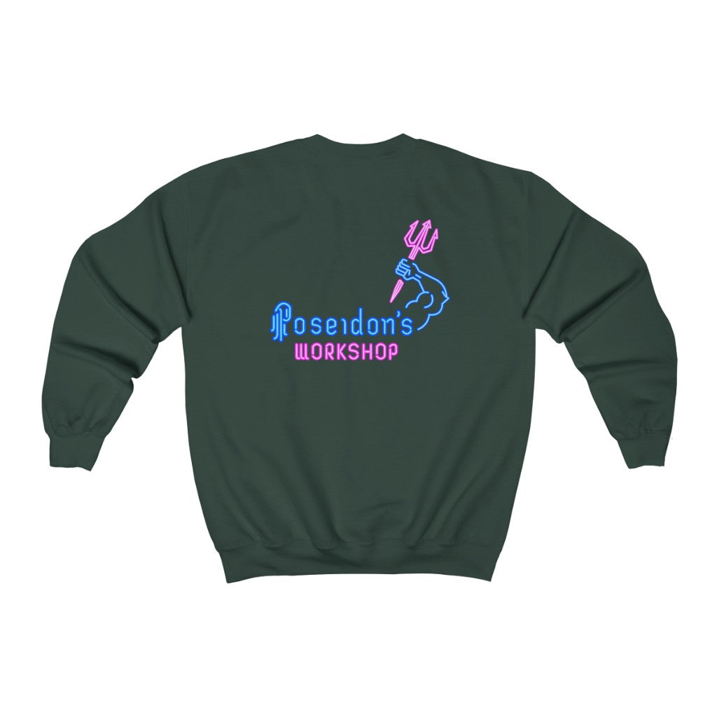 Bar Lights Crewneck Sweatshirt
