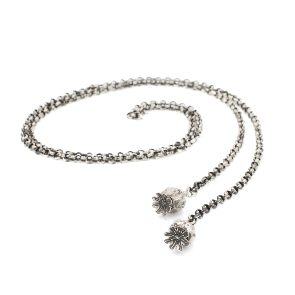 Poppy Lariat Necklace