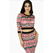 Multi Print Dress Set !!! - Vigorous Beauty Boutique