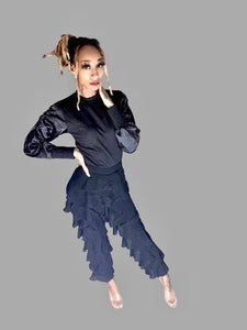 Ruffle Pants - Vigorous Beauty Boutique
