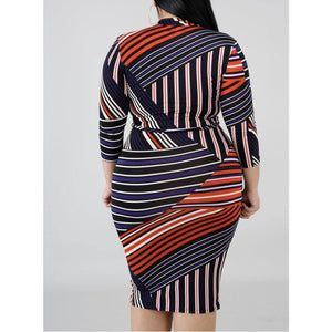 Sexy Stripe Dress
