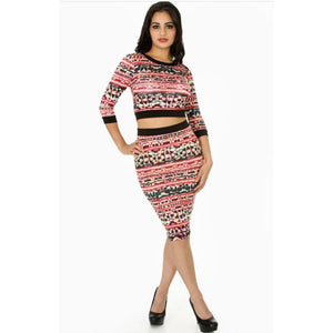 Multi Print Dress Set !!!