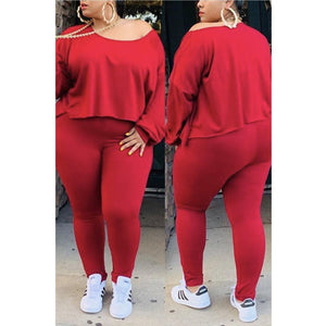 Casual Fire Track Suit 🔥 - Vigorous Beauty Boutique