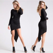 Asymmetrical Hem Dress !!!