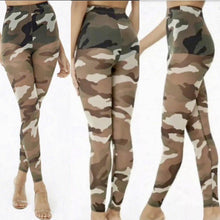 Sheer Camouflage Tights 😍💣