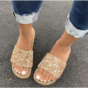 Embellished Jelly Slides