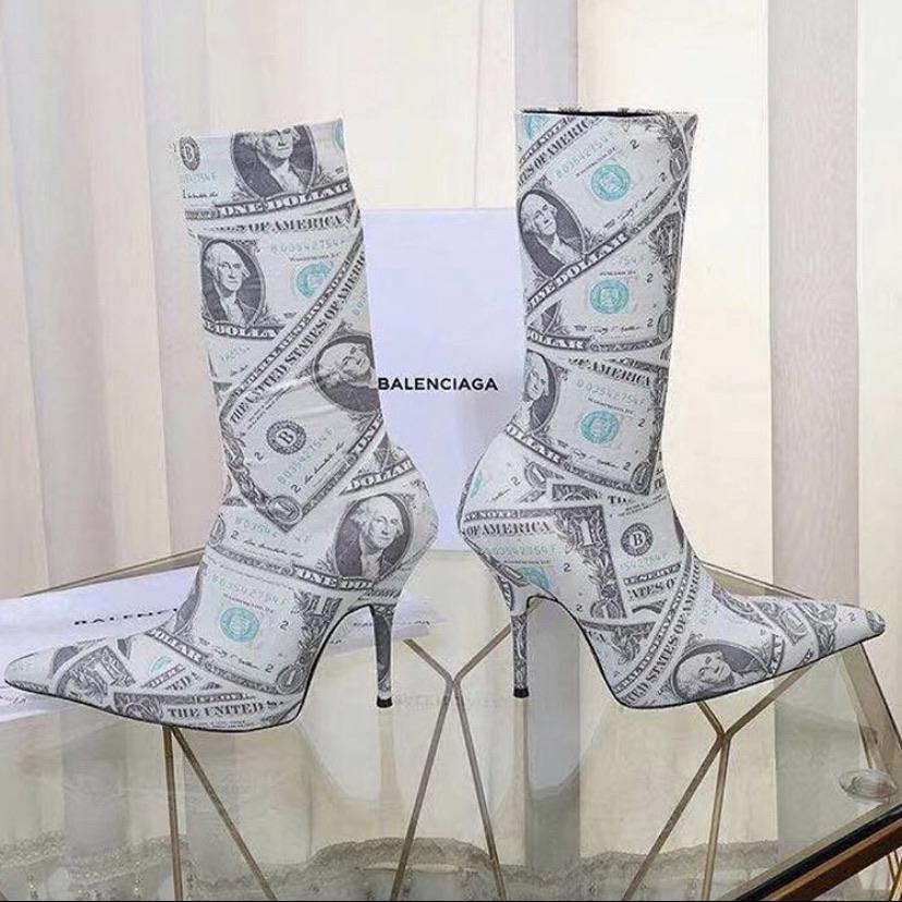 Money 💰 Heel Boots