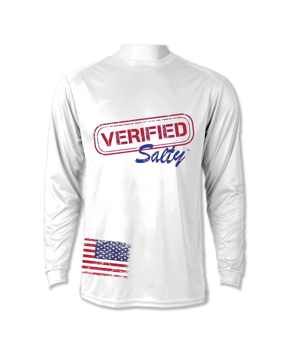 Long Sleeve Performance Shirt UV 50+ AMERICA