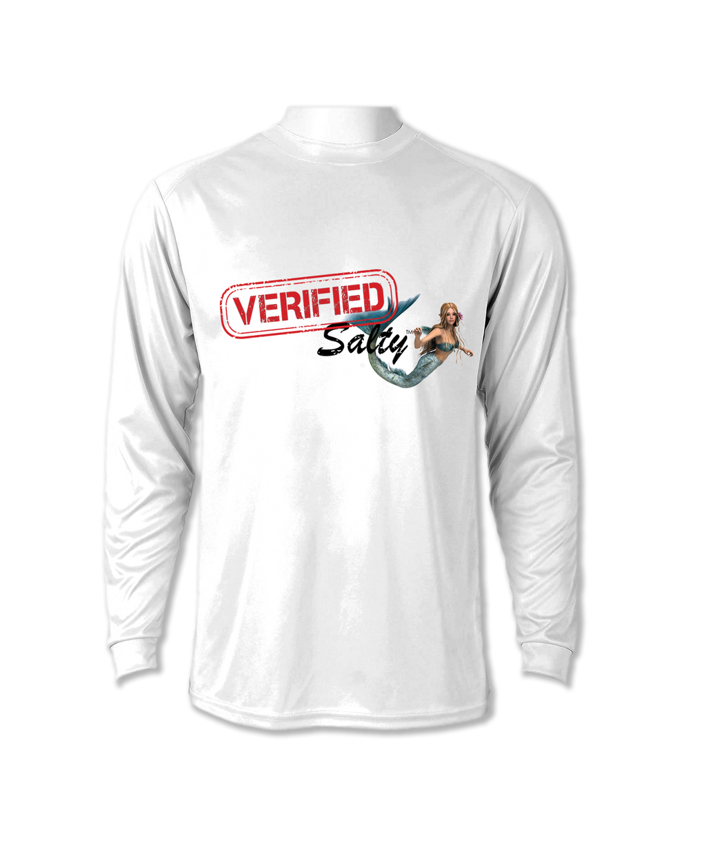 Long Sleeve Performance Shirt UV 50+ Mermaid