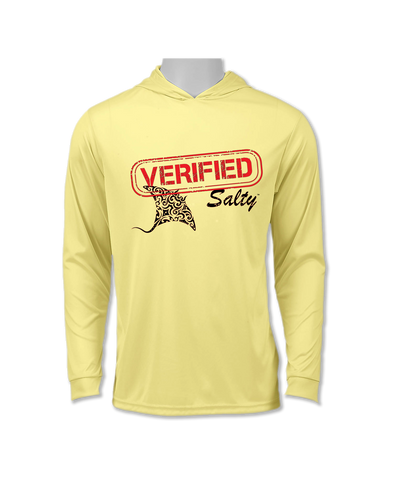 Long Sleeve Performance UV 50+ Hoodie Shark