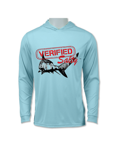 Long Sleeve Performance UV 50+ Hoodie Mermaid