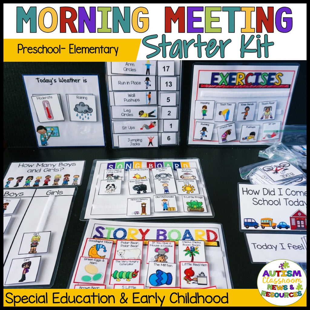 Preschool and Elementary Special Education Circle Kits
