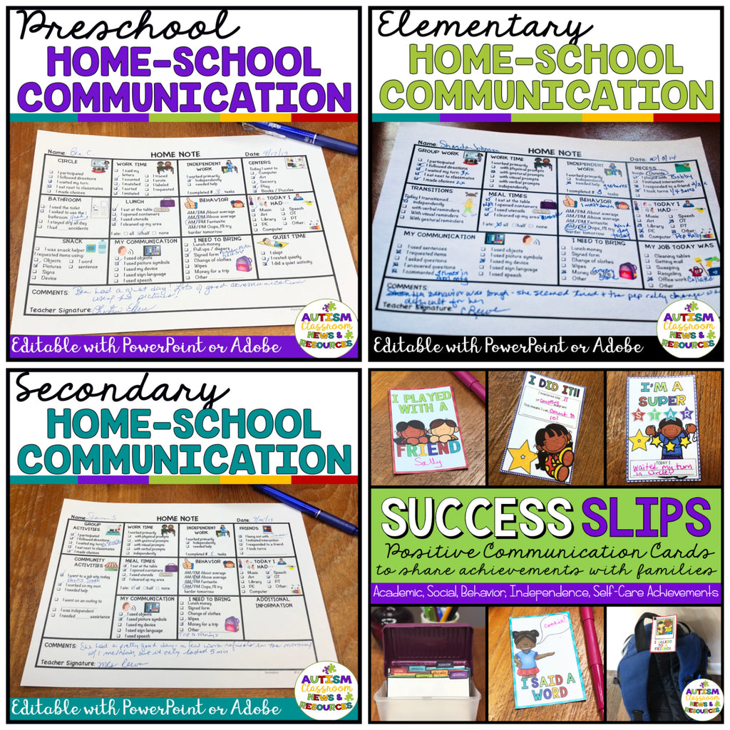 Home-School Communication for All Ages