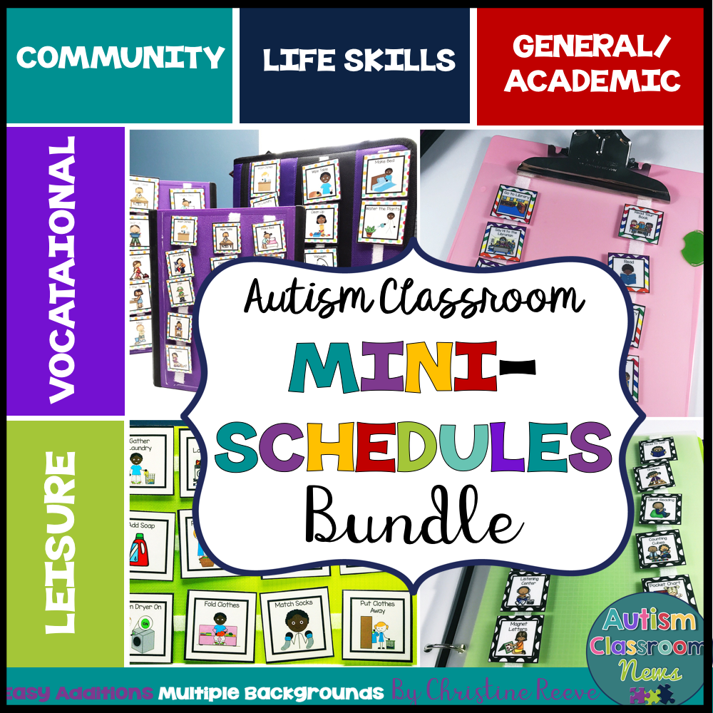 Mini-Schedule BUNDLE for Special Education of All Ages