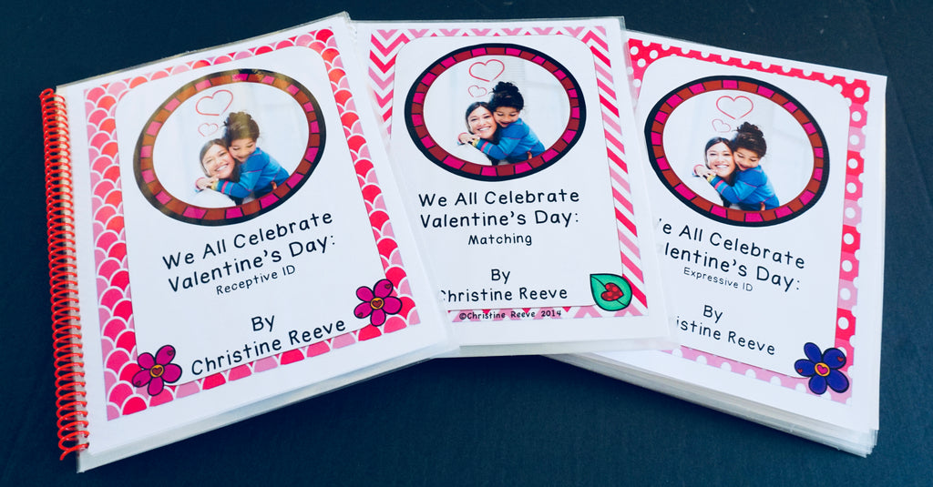 Valentine's Day Interactive Books with Real Photos - Autism Classroom Resources