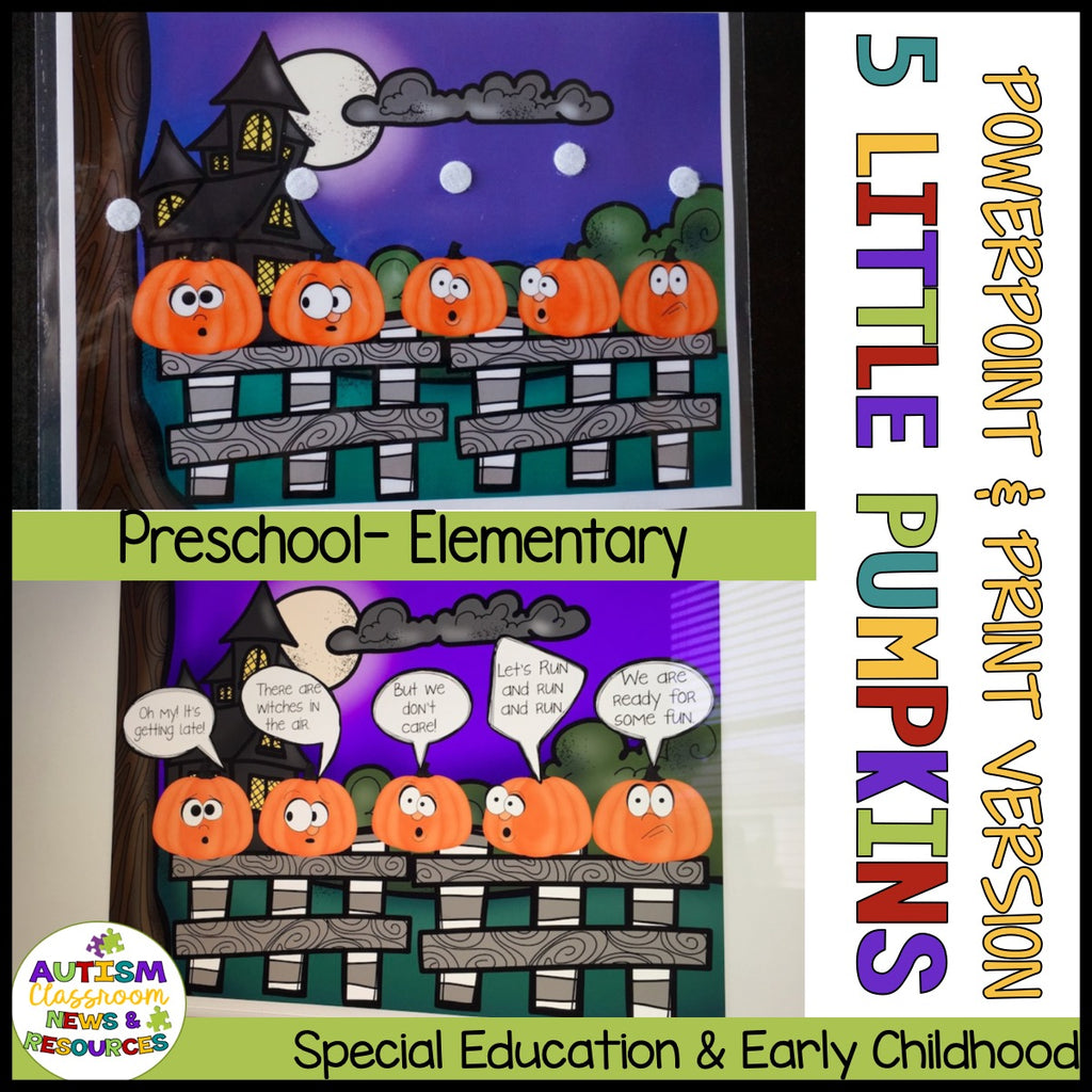 Morning Circle Fall Add-On Kit for Preschool and Elementary Special Education - Autism Classroom Resources