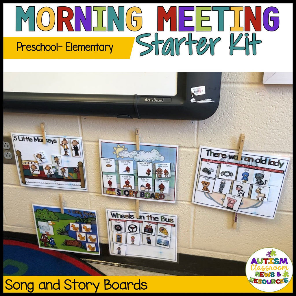 Preschool-Elementary Morning Meeting Starter Kit