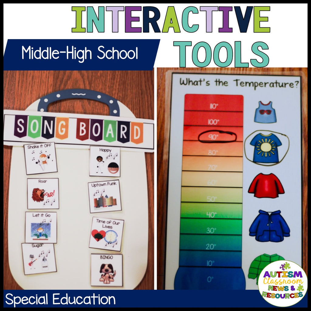 Special Education Morning Meeting Starter Kit for Middle and High School