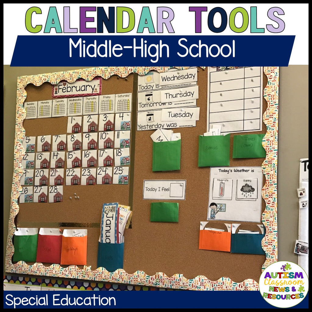 Special Education Morning Meeting Starter Kit for Middle and High School - Autism Classroom Resources