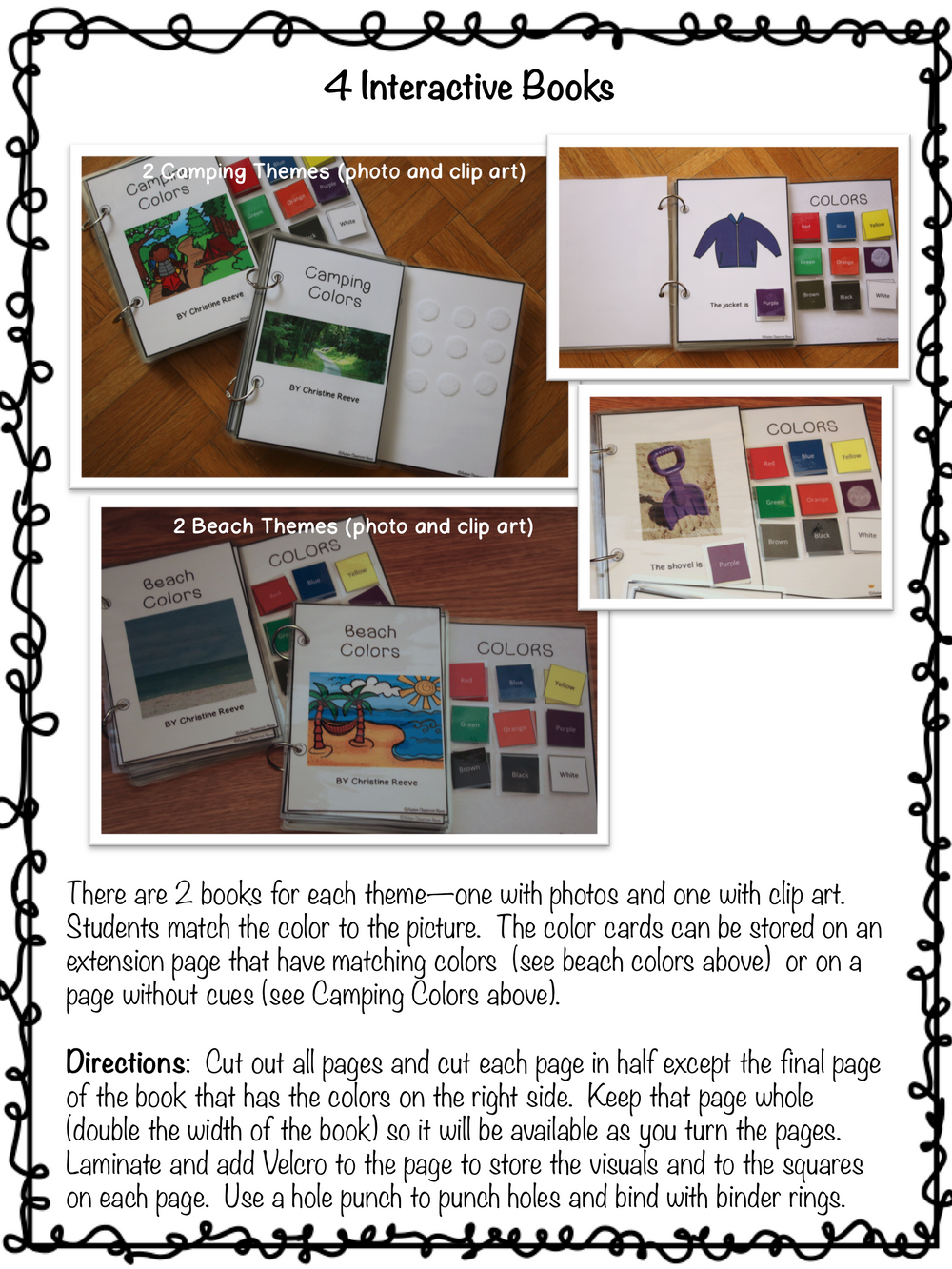Summer Color Activities for Generalization {Autism, Early Childhood} - Autism Classroom Resources