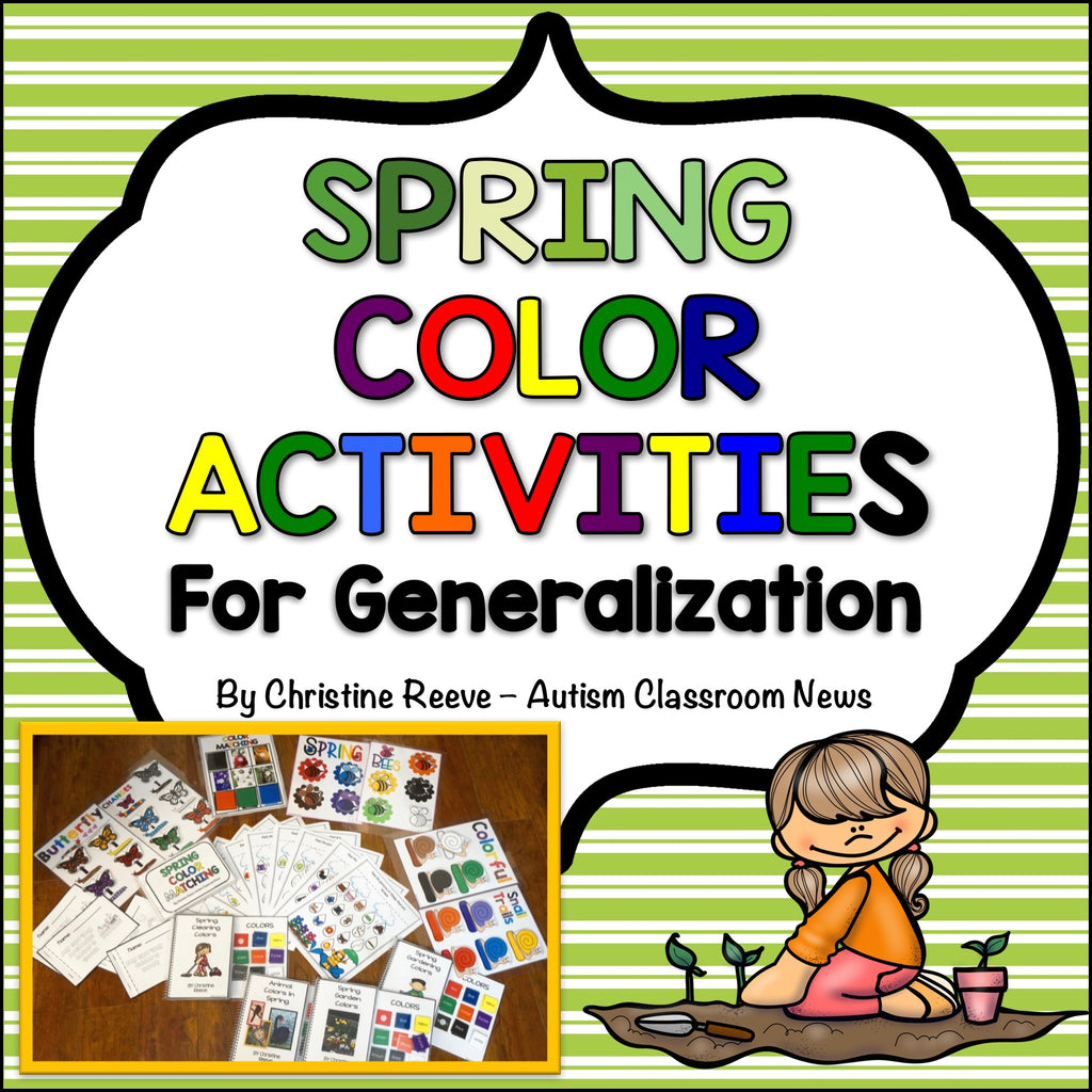 Spring-Themed Color Generalization Activities for Autism and Special Ed Programs - Autism Classroom Resources