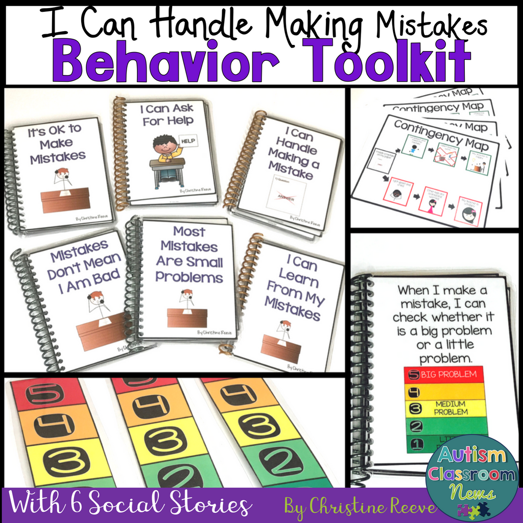 Behavioral Toolkit for Coping With Making Mistakes with Social Narratives