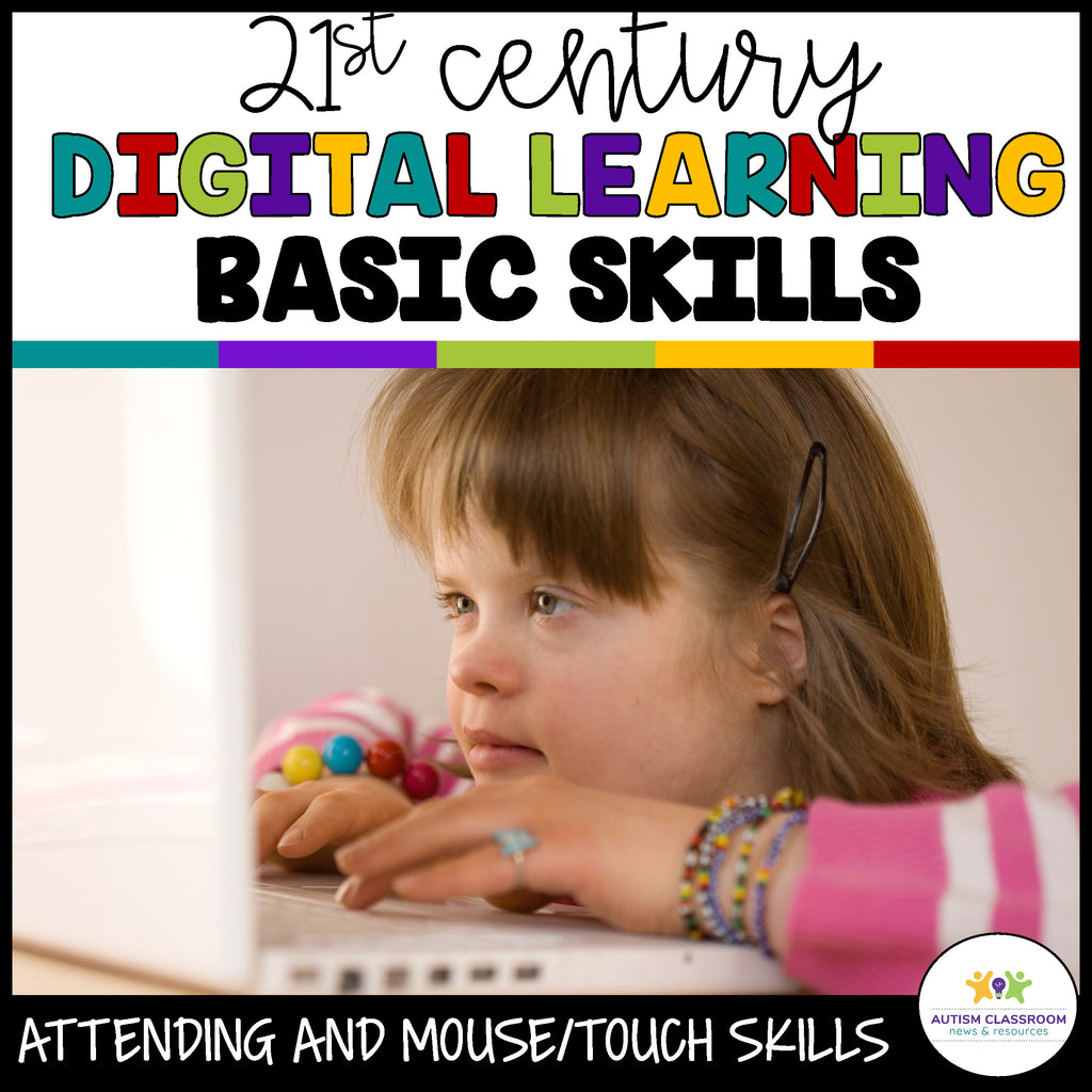 Basic Distance Learning Skills for Students in Special Education - Autism Classroom Resources