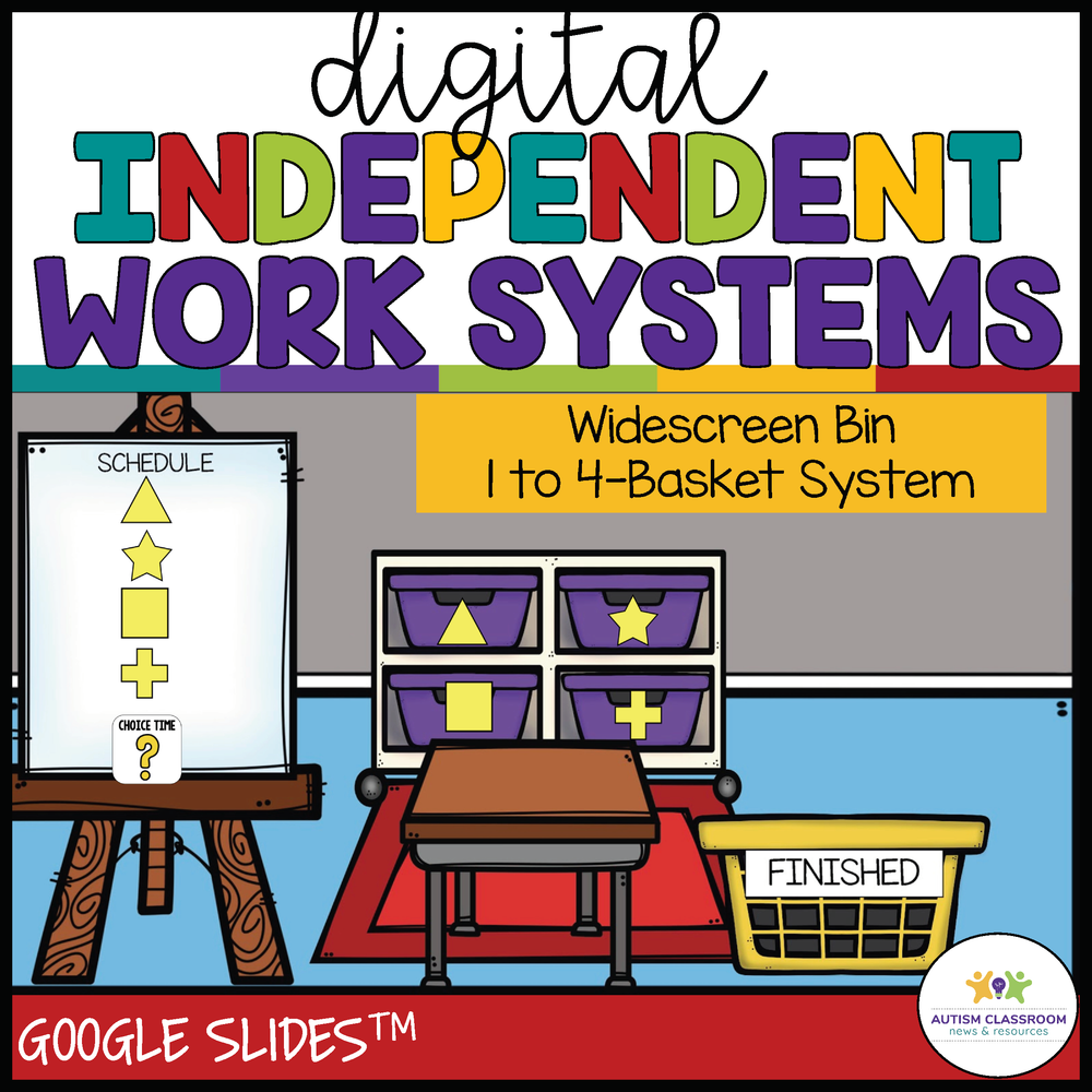 Digital Independent Work Systems: For Special Education Distance Learning - Autism Classroom Resources