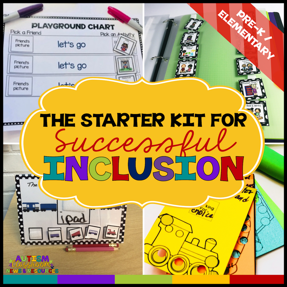 The Starter Kit for Successful Inclusion for Autism - Autism Classroom Resources