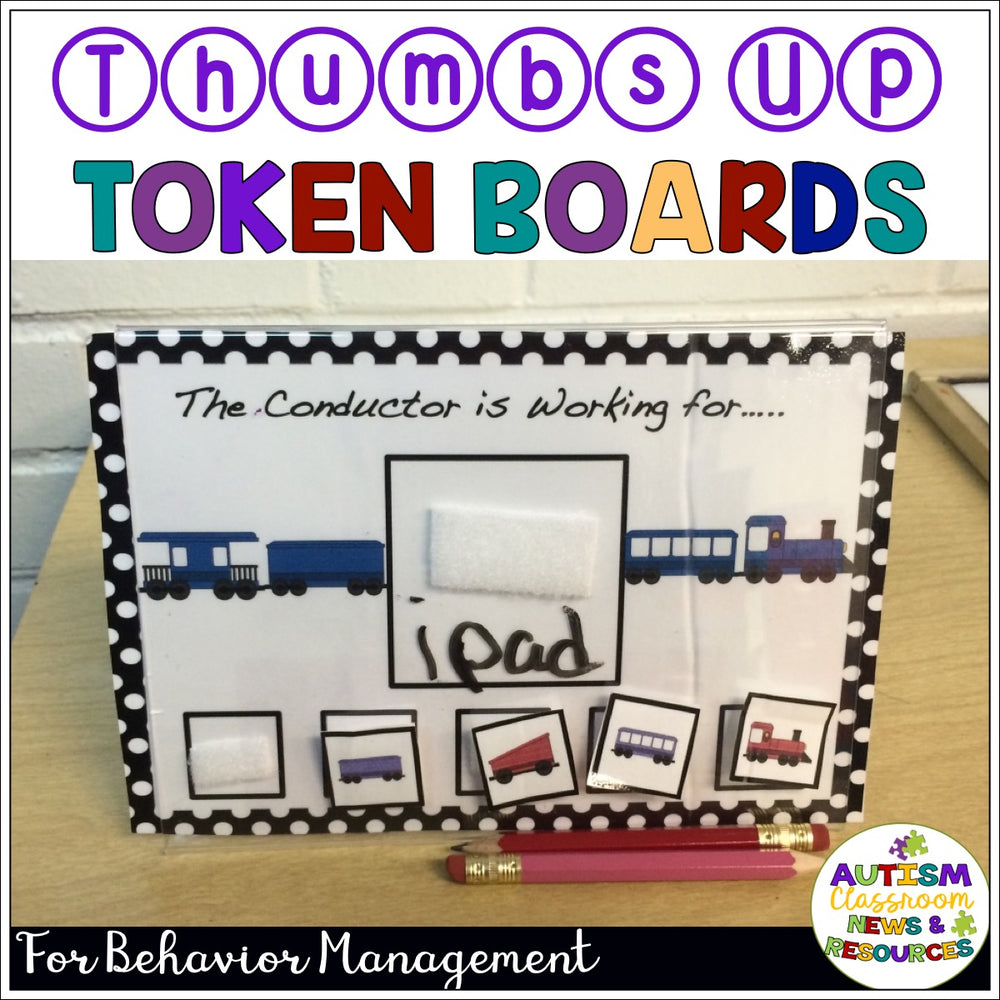 Character Token Systems for Behavior Management - Autism Classroom Resources