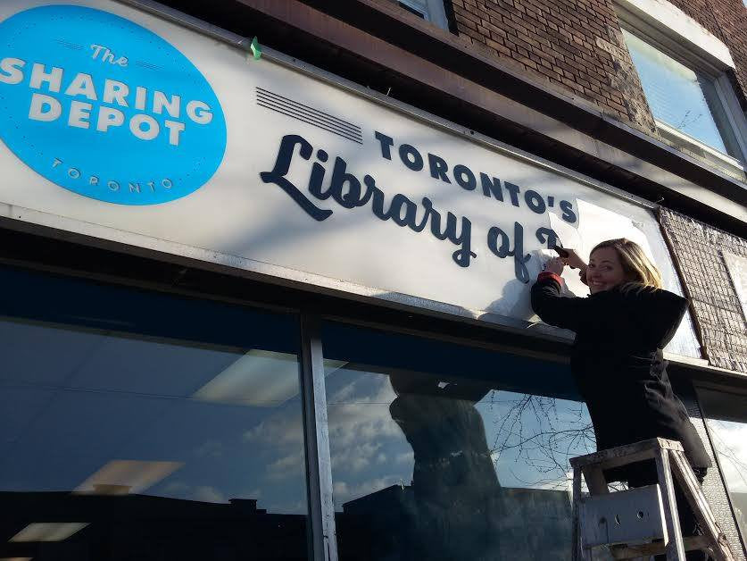 Toronto Library of Things - Sharing Library