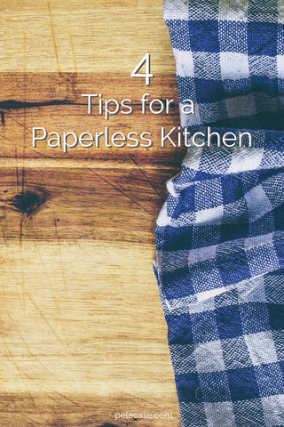 4 tips for transitioning to a paperless kitchen and ditch paper towels for good from www.goingzerowaste.com