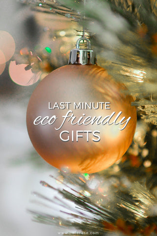 Last minute eco friendly gifts from www.pelacase.com
