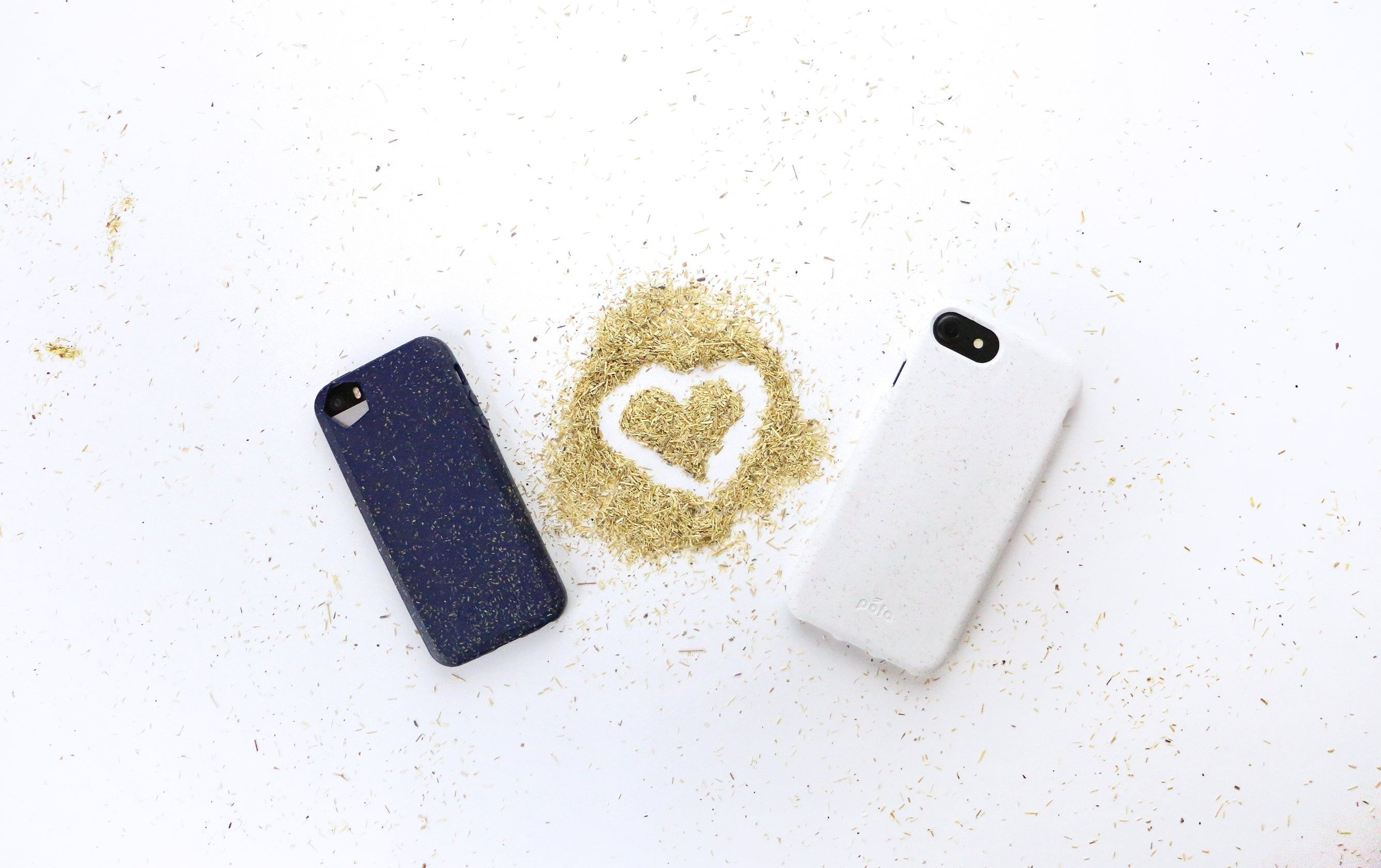 Pela Case Made with Flax - Biodegradable Compostable iPhone Case