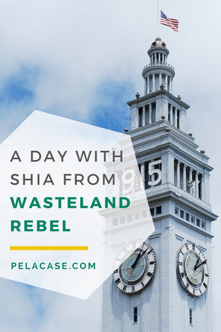 A day with zero waste blogger Shia from Wasteland Rebel