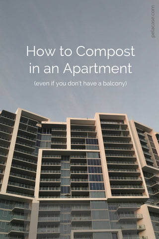 How to Compost in an Apartment #compost #ecofriendly #zerowaste