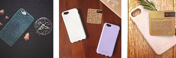 Plastic Free Packaging iPhone Case