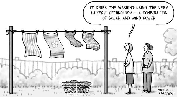 Air Dry Laundry Technology