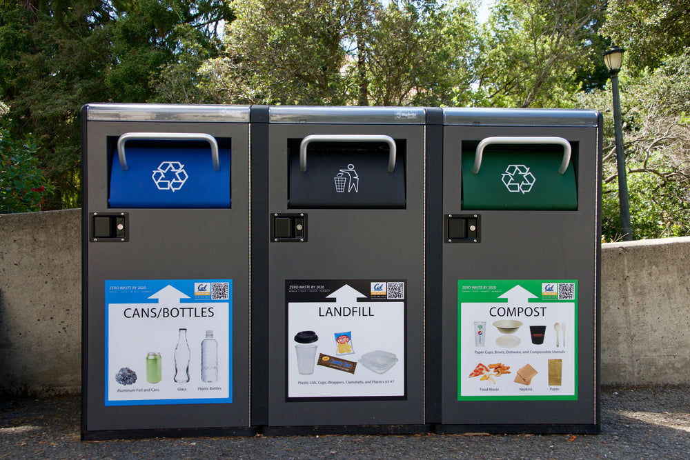 Waste Sorting Bins - Compostable Plastics