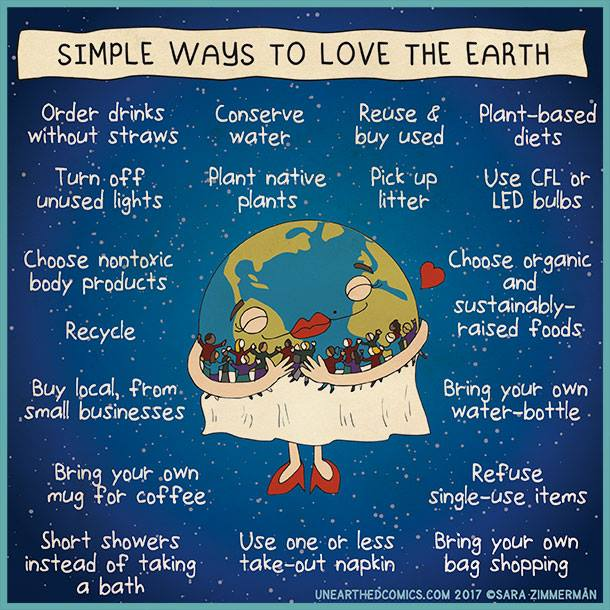 Simple Ways to Love The Earth