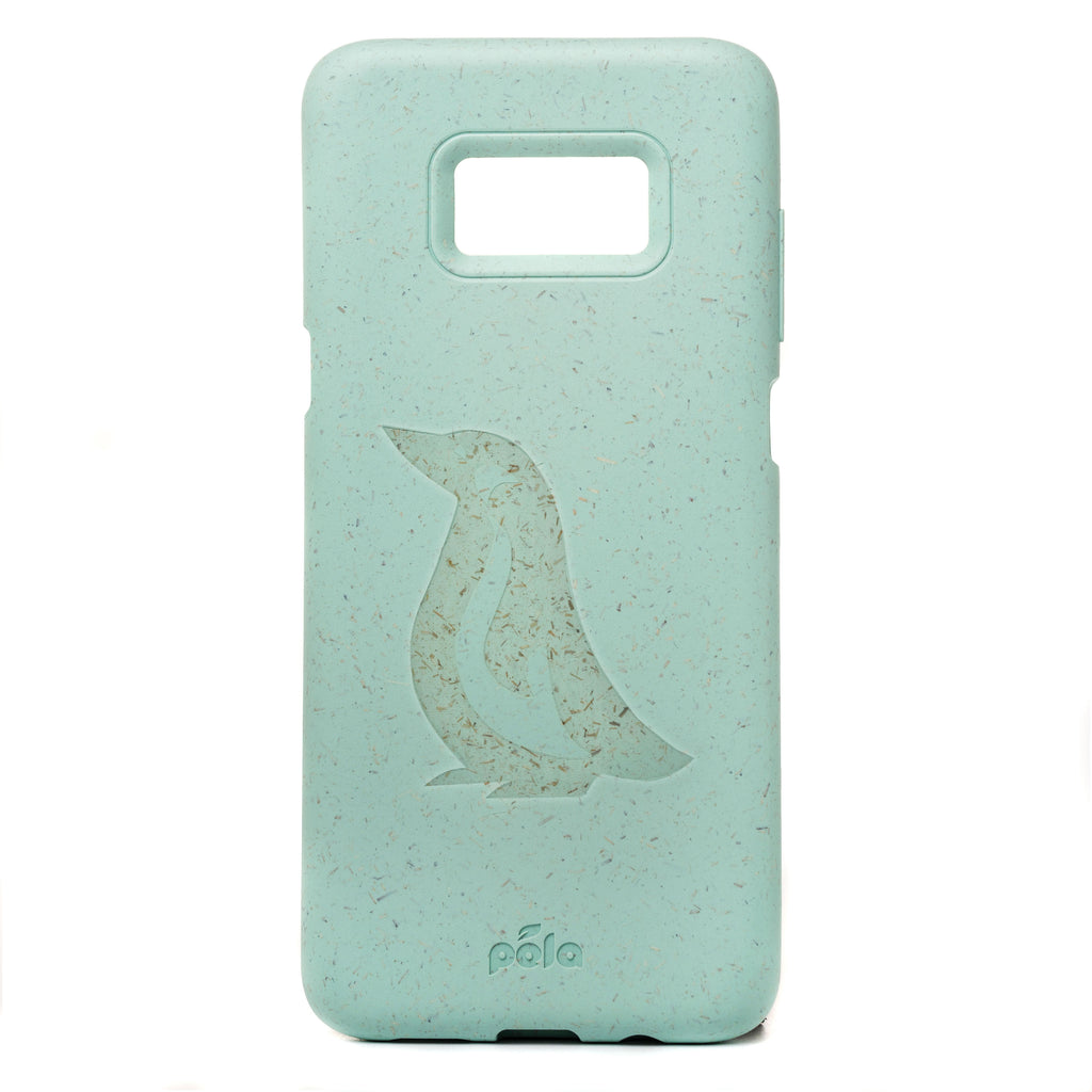 Penguin Ocean Turquoise Eco-Friendly Samsung Galaxy S7 Case