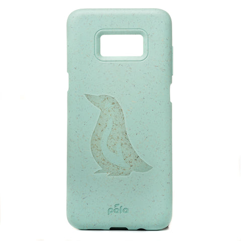 Penguin Ocean Turquoise Samsung S8+(Plus) Eco-Friendly Phone Case