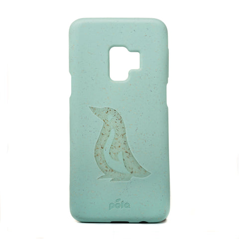 Penguin Ocean Turquoise Samsung S9 Eco-Friendly Phone Case